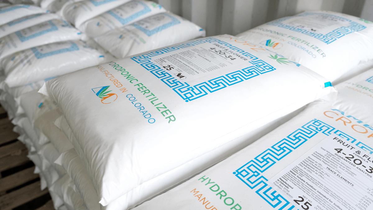 hydroponic fertilizer manufactured in Colorado